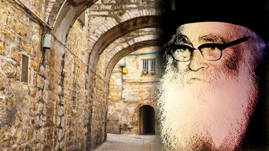 לכבוד יום פטירתו: תיעוד סיור מיוחד עם אלידע  בר שאול בעקבות ר' אריה לוין