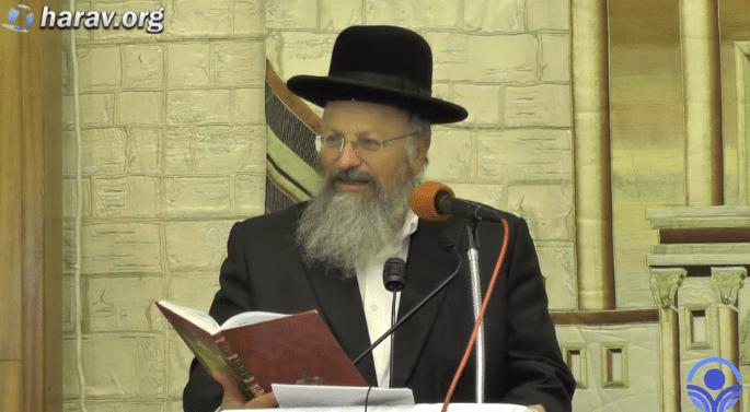 הגישה היסודית אל ראש השנה – אהבת עולם: הרב שמואל אליהו
