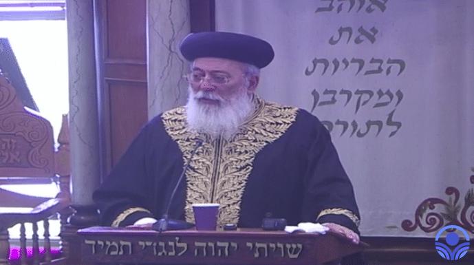 הרב שלמה משה עמאר: כך נתכונן נכון לחג השבועות