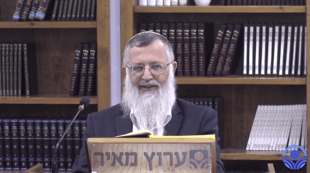 הדבר האמיתי: שיעור בהלכות ליל הסדר עם הרב מרדכי ענתבי