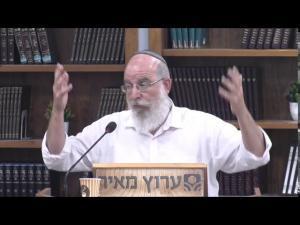 הרב אליעזר קשתיאל:הקשר בין קדושה לבין בחירה חופשית