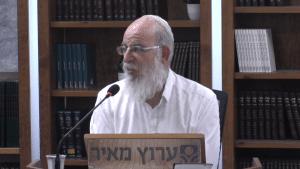 מחלוקת לשם שמיים? שיעור מיוחד מאת הרב אליעזר קשתיאל על פרשת קרח