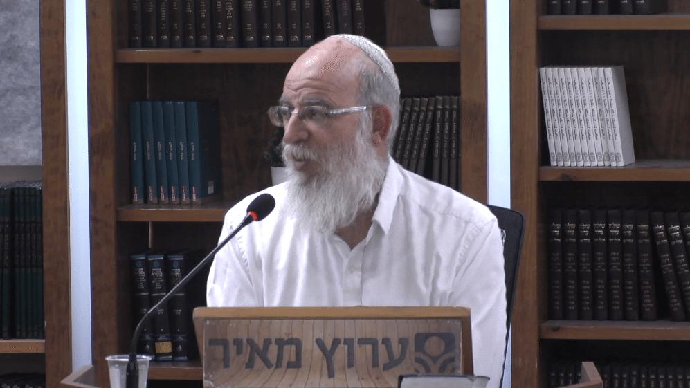 מדת הקינאה שמוציאה את האדם מן העולם: הרב אליעזר קשתיאל