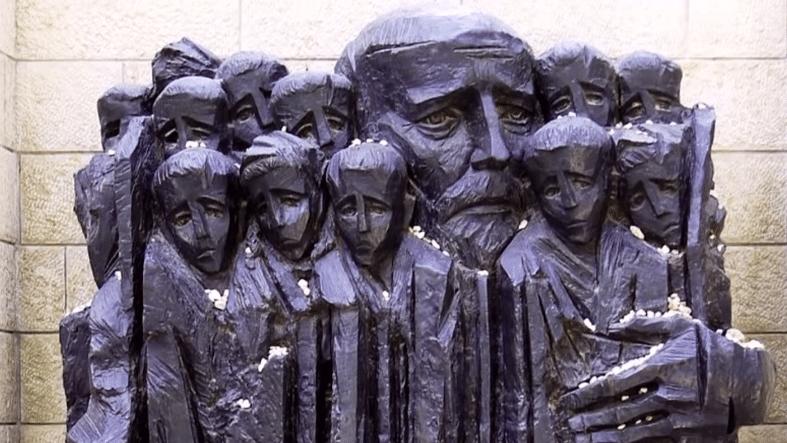 איפה ישנם עוד אנשים: סרט אודות יאנוש קורצ'אק לכבוד יום השנה לבחירתו ללכת עם תלמידיו להשמדה